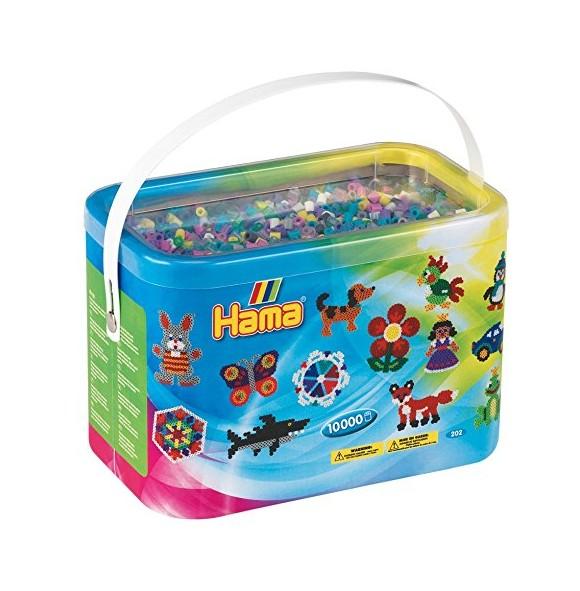 Hama Beads - Midi - 10.000 Beads in Bucket - Mix 69 (202-69)