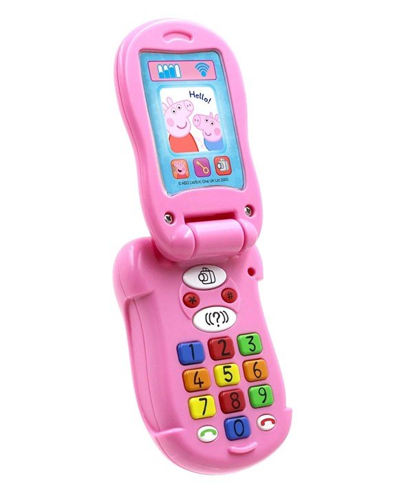 Peppa Pig - Flip & Learn Phone (40-00675)