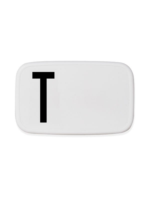 Design Letters - Personal Lunch Box - T