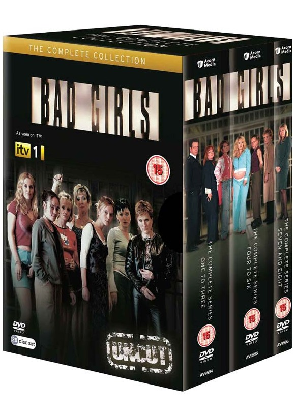 Bad Girls: Komplet boks - sæson 1 - 8 - UK - DVD