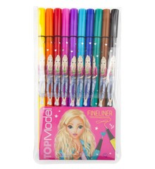 Top Model - 10 Pack - Fineliner Markers (46321)