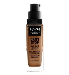 NYX Professional Makeup - Can't Stop Won't Stop Foundation - Mahogany