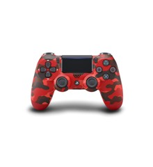 Sony Dualshock 4 Controller v2 - Red Camouflage