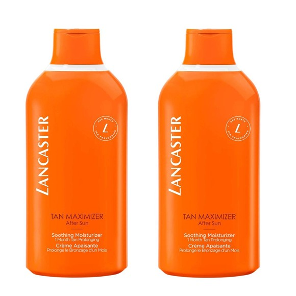 Lancaster - 2x After Sun Tan Maximizer Soothing Moisturizer 400 ml (BIG SIZE)