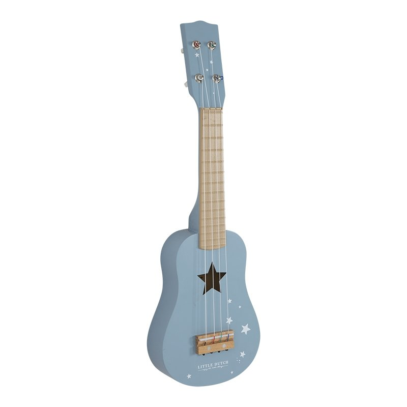 Little Dutch - Holz Gitarre, Blau (4409)