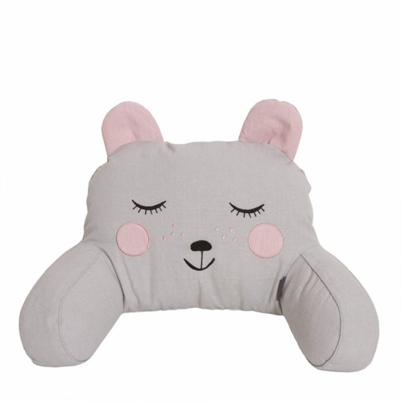 Roommate - Bear Head Rests - Grey (31320)