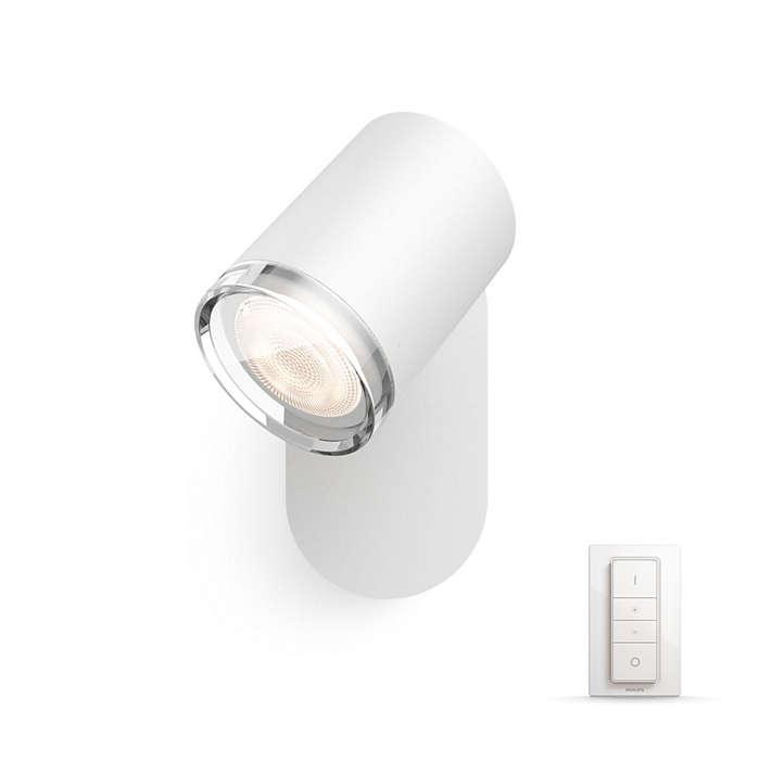 Philips Hue - Adore Bathroom Spot Light - White Ambiance