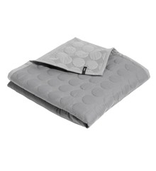 HAY - Mega Dot sengetæppe 235 x 245 cm. New Light Grey