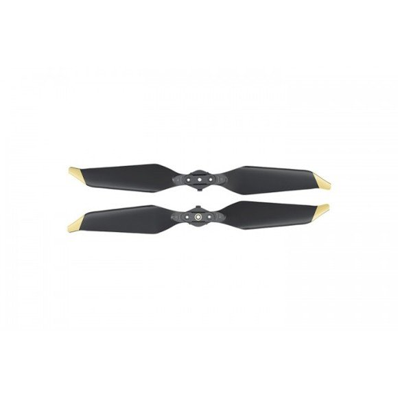 DJI - Mavic Pro Low-Noise Quick-Release Propellers - Gold Tip