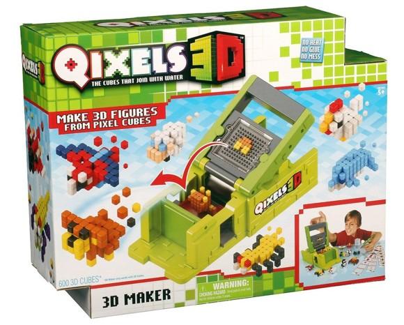 Qixels - 3D - 3D Maker