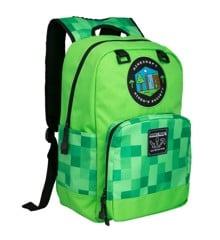 "Minecraft 17"" Miner's Society Backpack"