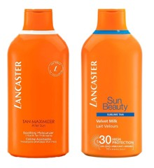 Lancaster - SUN BEAUTY Sublime Tan Velvet Milk SPF 30 400 ml + AFTER SUN Tan Maximizer Soothing Moisturizer 400 ml
