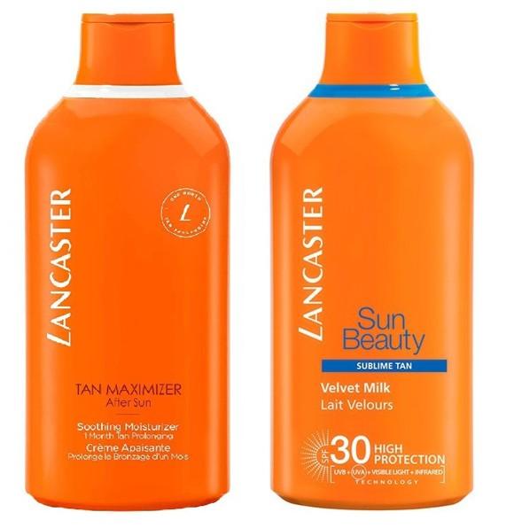 Lancaster - SUN BEAUTY Sublime Tan Velvet Milk SPF 30 400 ml + AFTER SUN Tan Maximizer Soothing Moisturizer 400 ml