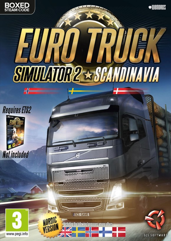 Euro Truck Simulator 2 - Scandinavia (Nordic Boxed version)