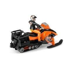 Bruder - Snow mobile with driver and accessories (BR63101)
