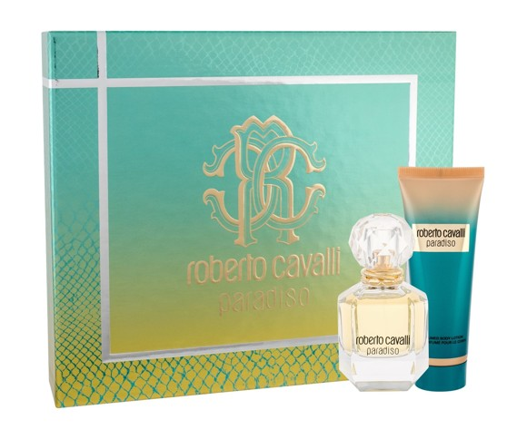 Roberto Cavalli - Paradiso EDP 50 ml + Body Lotion 75 ml - Giftset