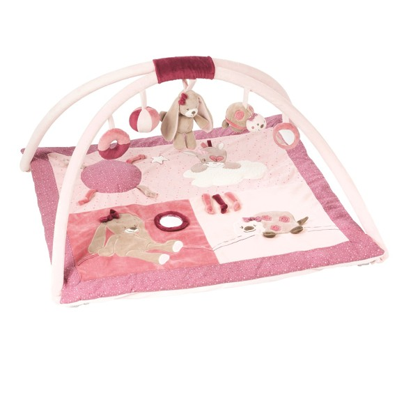 Nattou Nina, Jade and Lili - Playmat With Arches