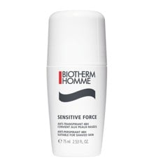Biotherm -  Sensitive Force Anti-Perspirant 48Hr Deodorant Roll On 75 ml