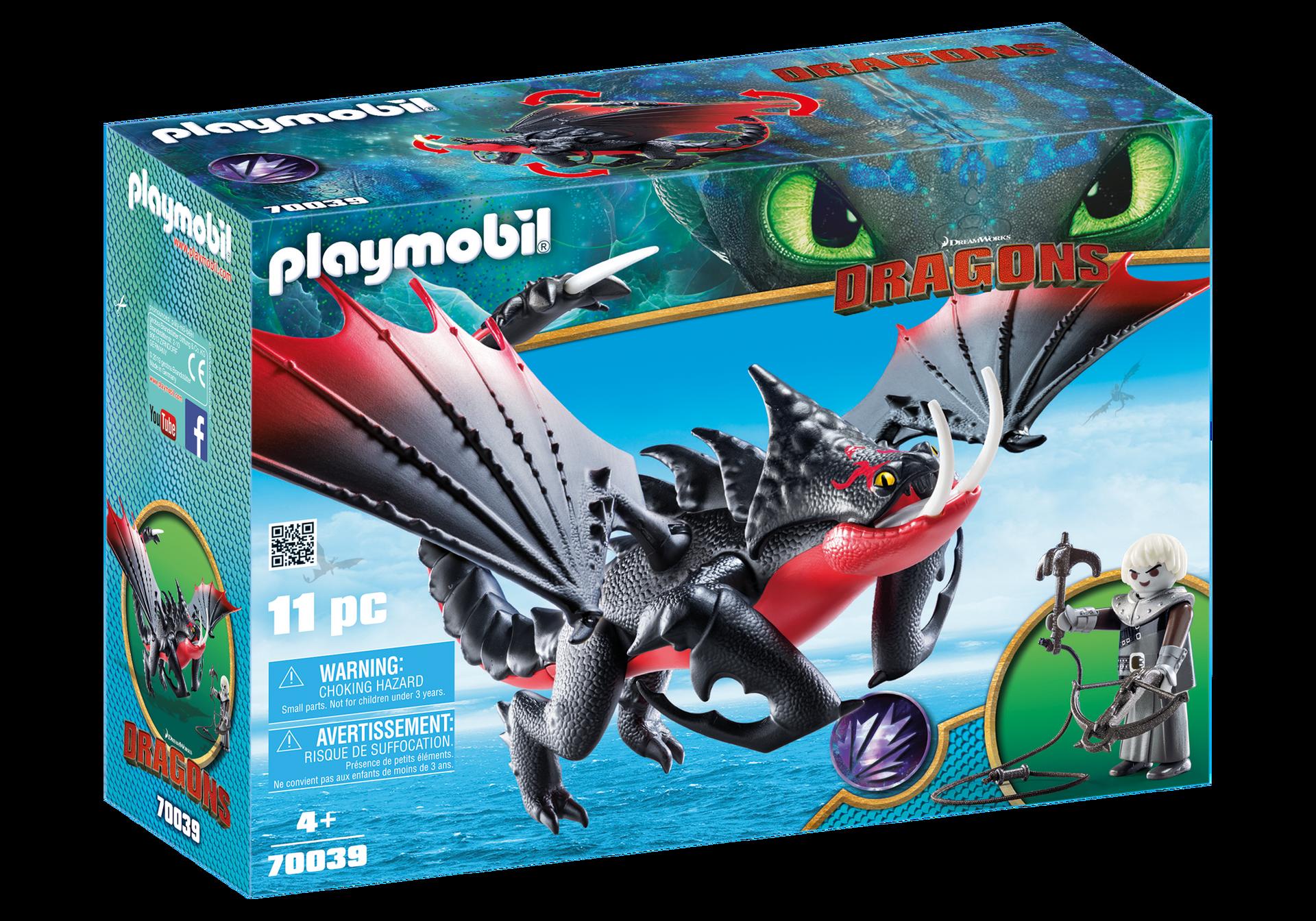 Playmobil - Deathgripper mit Grimmel (70039)