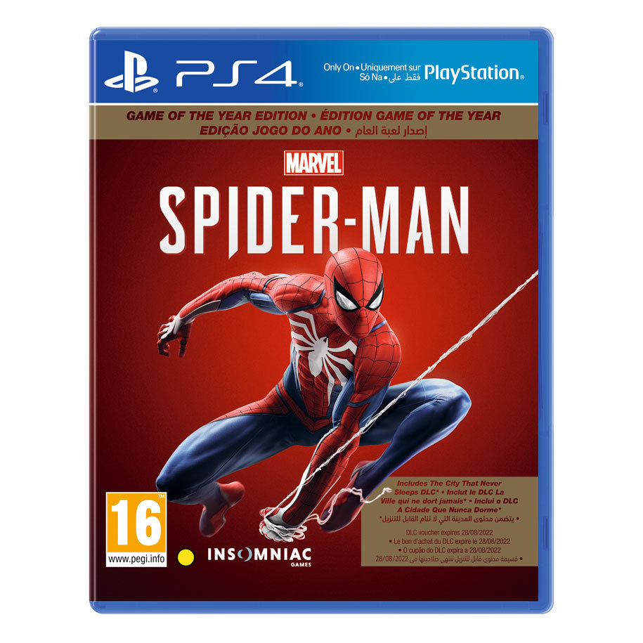 Spider-Man (Game of the Year) (UK/Arabic)