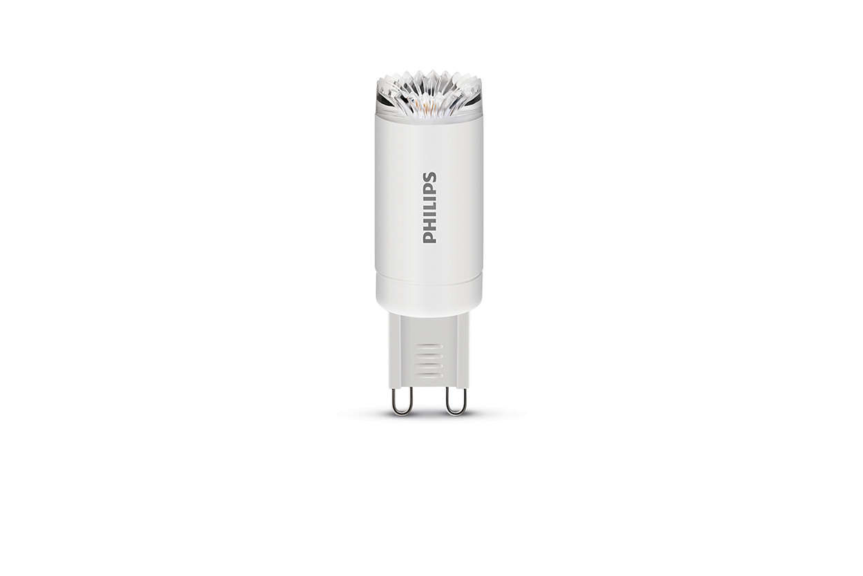 2.5 W 25 W Warm White Philips LED G9 Capsule Light Bulb