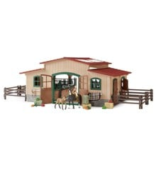 Schleich - Horse stable with accessories (42195)