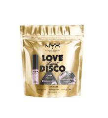 NYX Professional Makeup - Love Lust Disco Care Læbe Kit