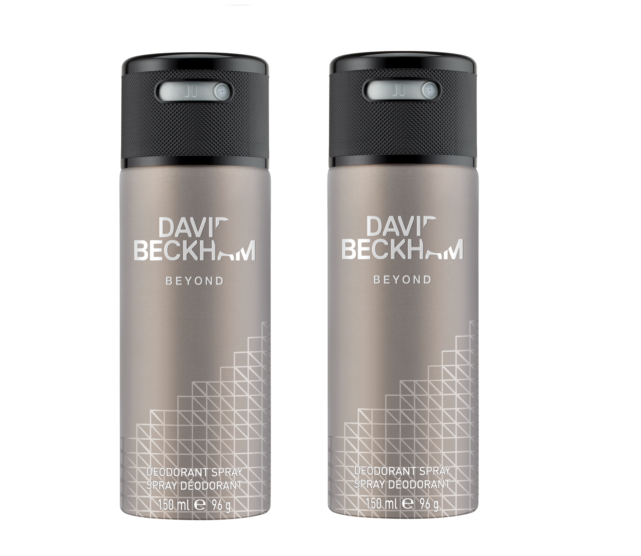 David Beckham - 2x Beyond Deodorant Spray 150 ml