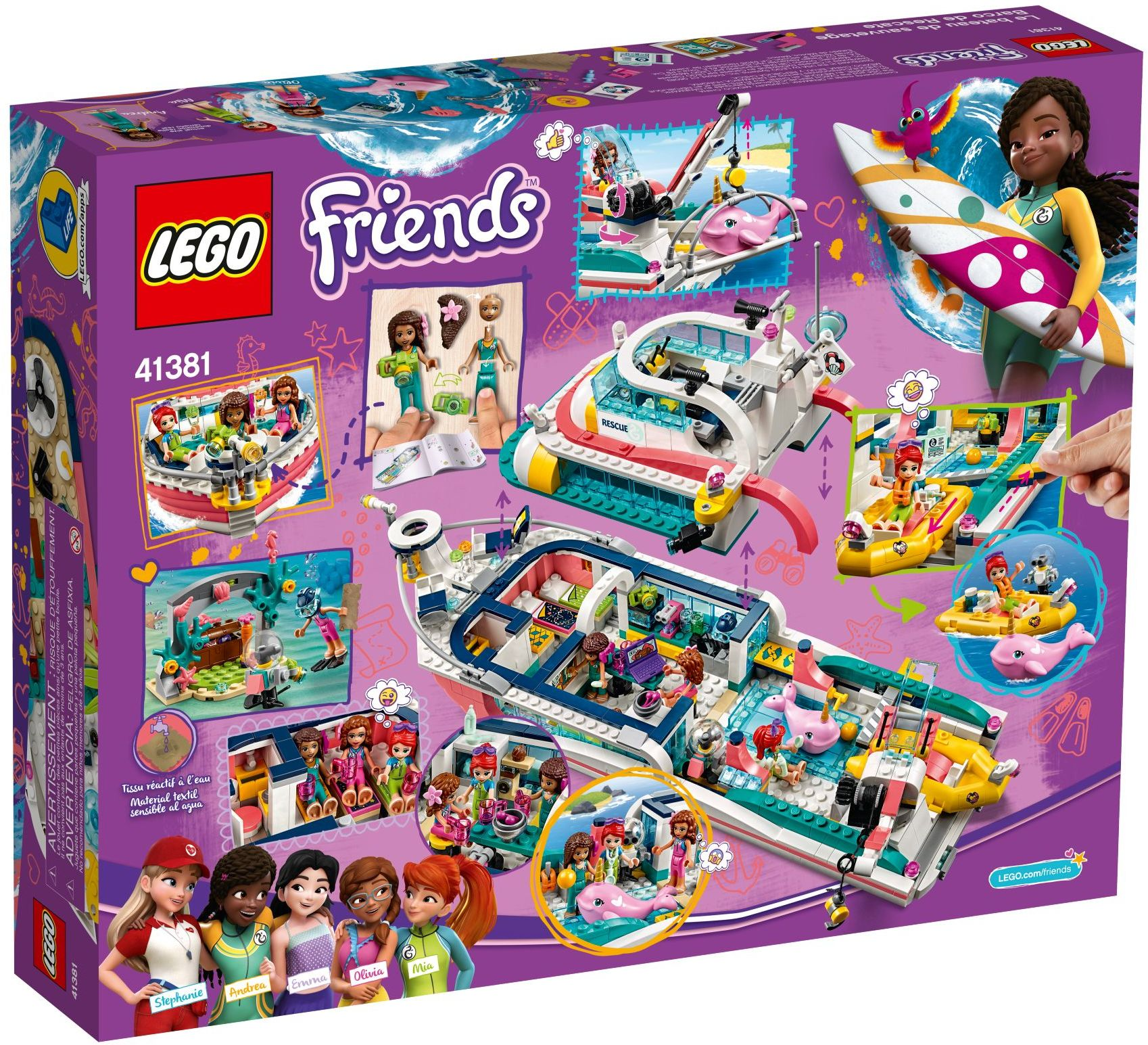 Buy LEGO Friends - Rescue Mission Boat (41381) - Incl ...