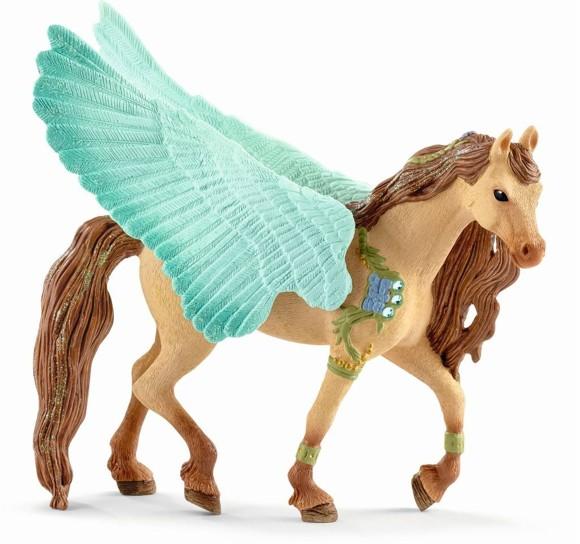 Schleich - Bayala - Decorated Pegasus stallion (70574)
