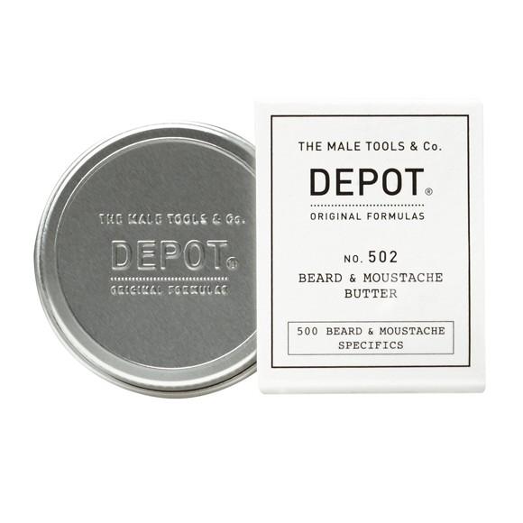 Depot - No. 502 Beard & Moustache Butter 30 ml