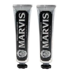 MARVIS - Tandpasta Licorice Mint 2x85 ml