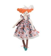 Moulin Roty - Fransk kludedukke -  Miniature Alluring Lady, 34 cm
