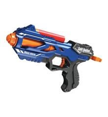 Manual Soft Bullet Gun - Inklusive 5 Store Skud (520317)
