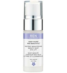 REN - Keep Young and Beautiful Instant Brightening Beauty Shot Eye Lift Serum 15 ml