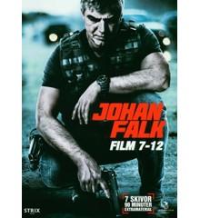 Johan Falk: Film 7-12 (7-disc) - DVD