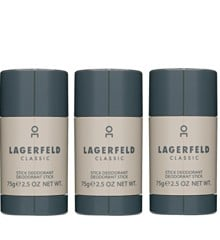 Karl Lagerfeld - 3x Classic Deodorant Stick