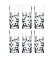 Lyngby Glas - Lyngby Krystal Melodia Highball 36 cl - Set of 6 (916105)