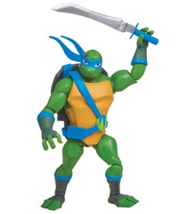 Rise of the Teenage Mutant Ninja Turtles - Battle Shell Leonardo Action Figur (80826)
