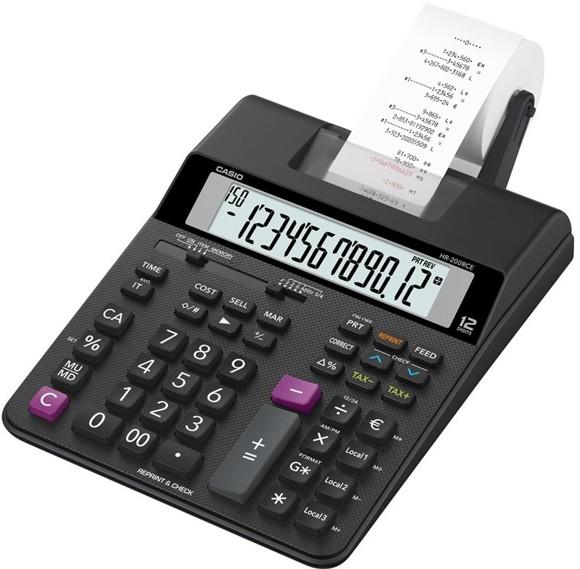 Casio Druckender Rechner Calculator (Model No. HR200RCE)