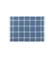 Normann Copenhagen - Papa Plaid 130 x 200 cm - Check Dark Blue/Pale Yellow (620511)