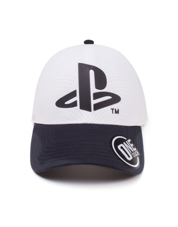 Playstation - Logo Seamless Curved Bill Cap  (One-size)