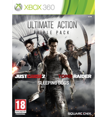 Just Cause 2, Sleeping Dogs & Tomb Raider Bundle