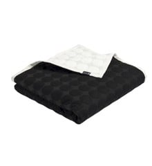 HAY - Mega Dot Quilt 235 x 245 cm - Black/Cream (508102)