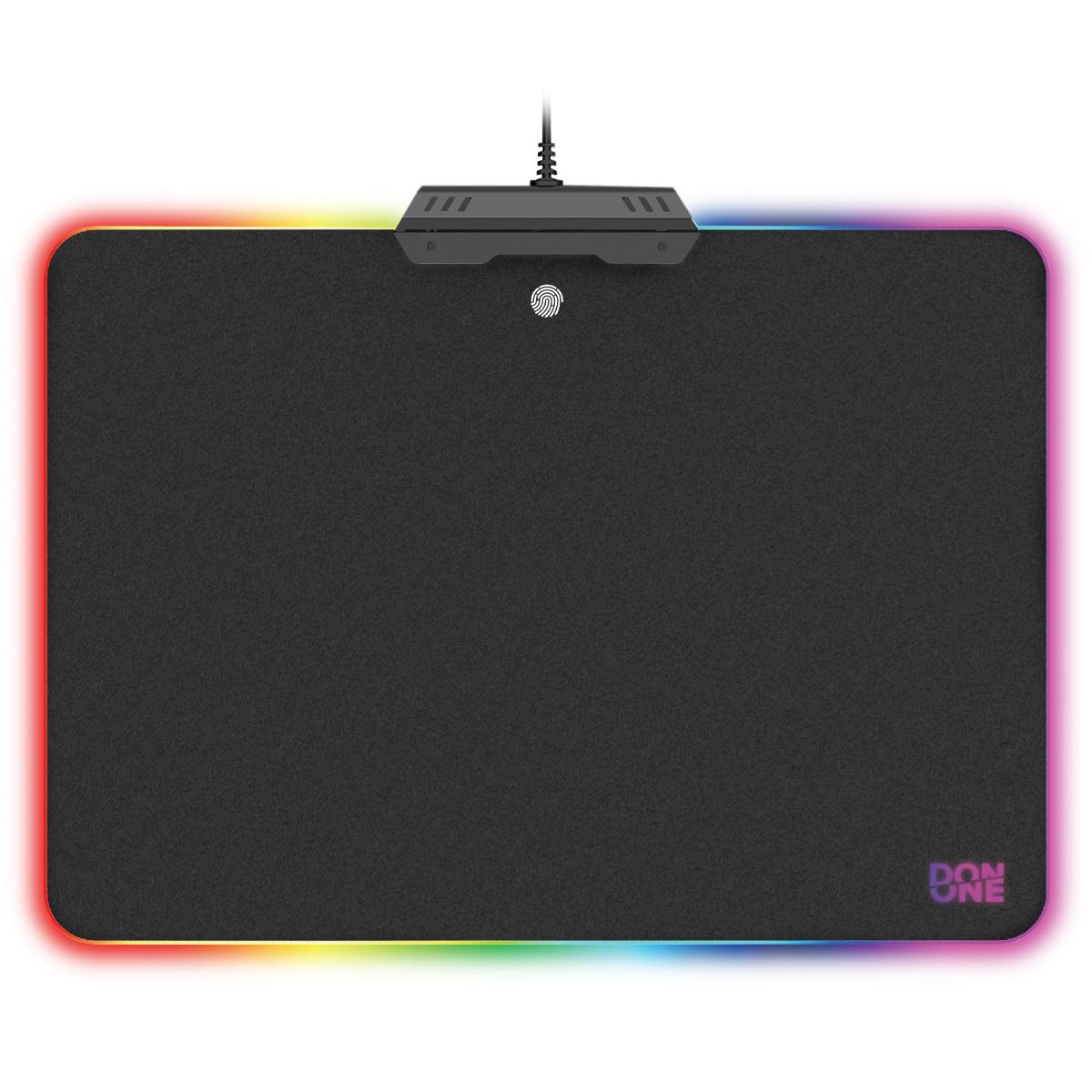 Billede af DON ONE - AMATO Musemåtte LED -Hard surface Gaming Musemåtte