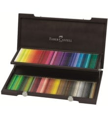 Faber-Castell - Polychromos - 120 Colour Pencils in Wooden case (110013)