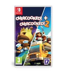 Overcooked + Overcooked 2 Double Pack