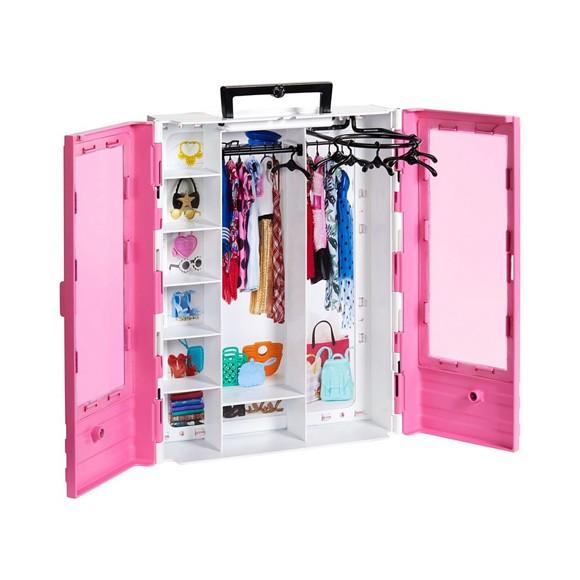 Barbie - Ultimative Tøjskab m/6 Bøjler(GBK11)