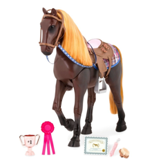 Our Generation - Thoroughbred horse, Dark Brown (738037)