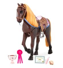 Our Generation - Thoroughbred horse, Dark Brown (BD38037Z)